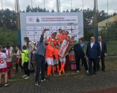 Pierwsze miejsce w turnieju piłki nożnej O Puchar Dyrektora Centralnego Ośrodka Sportu