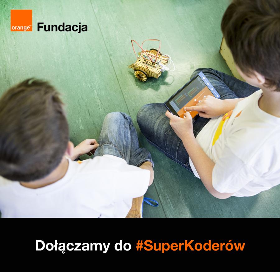 Nasza szkoła od września dołączy do #SuperKoderów!