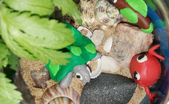 Mały Odkrywca- morze w słoiku